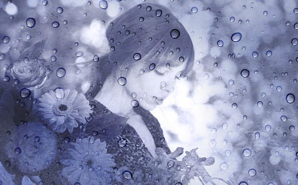 La chica sin paraguas